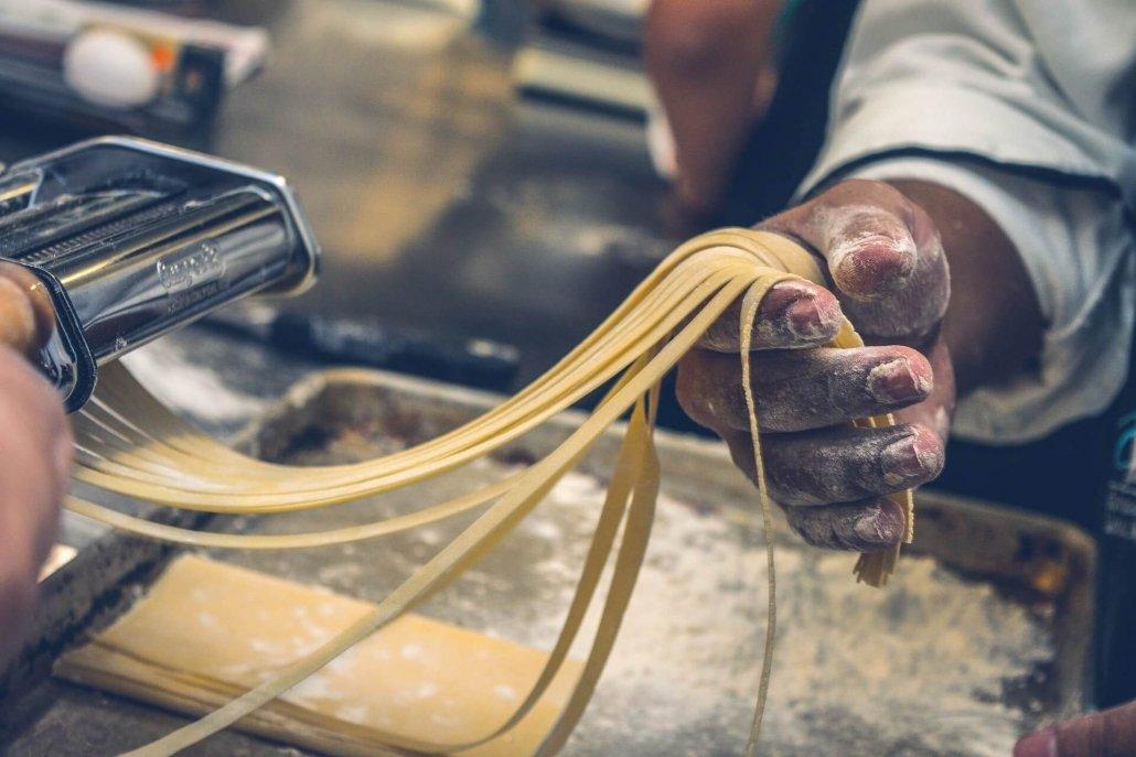 Pappa Roma - Making Pasta